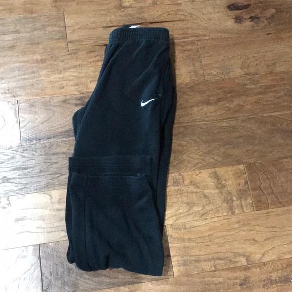 Nike Other - Boys xl Nike black sweatpants with pockets